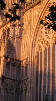 Sunset on the Minster by Mestawe