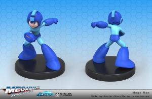 Megaman Fight Stance by HecM