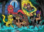 Gravity Falls Werewolves 1 by Khialat