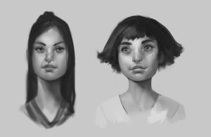 Faces 02 by JohnoftheNorth