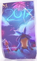 Happy New Year! by Steve-the-Lucario