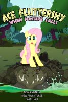 Ace Fluttershy When Nature Calls by dan232323