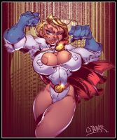 powergirl by wagnerf