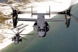 Little Pave Low and Big Osprey by Crewshay