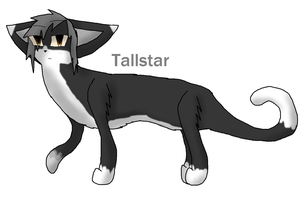 Tallstar (100 Warrios Challenge) by TheSlendermanIsHere