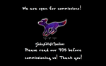We Are Open!! by GalaxyWolfCreations