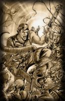 Ash Army of Darkness by SachaLefebvre