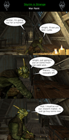 Skyrim is Strange - War Paint by HelloMyNameIsEd