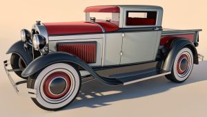 1930 Ford Model A Pickup by SamCurry
