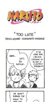 Naruto Doujinshi - Too Late by SmartChocoBear