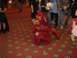 Red XIII 3 by pariahpoet