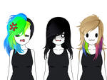 'Mum Its Not A Phase' Hair exports by LollyDamnPop