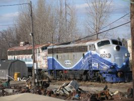 Streamliners in Columbus by railguy365