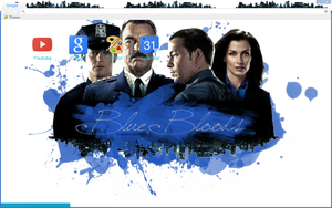 Blue Bloods Theme by bandchromethemes