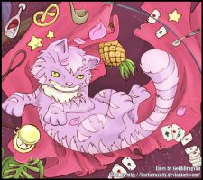 Cheshire Cat by KarlaFrazetty