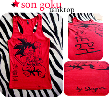 SON GOKU- tank top by skyna