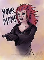 Axel's got something to say by pandorabox