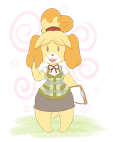 ACNL - Isabelle by rozga-chan