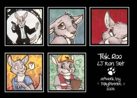 Icons - Tek Roo by foxyfennec