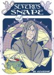 Severus Snape - fin badge art by Kieshar