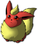 .Flareon. by Latias1995
