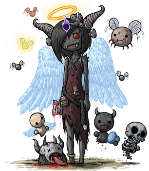The Binding of Isaac - Eve by IcyYmir