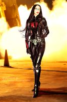 Cobra Baroness' attack - cosplay by Daelyth