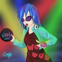 Vinyl Scratch [Humanized] by Doujio