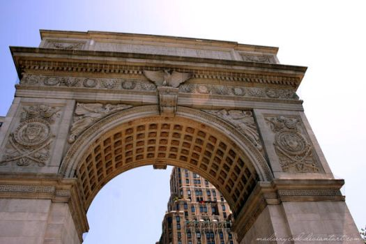Washington Square Arch by madsexycool