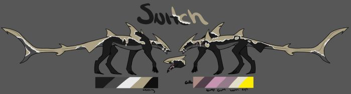 Snitch Reference sheet by Secretwolf4328