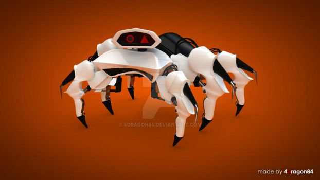 Spider robot by 4Dragon84