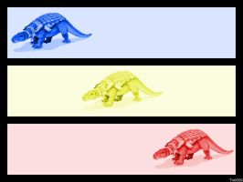 Dino Colors by frotton