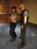 MC 2012 - Jill Valentine and Albert Wesker by vincent-h-nguyen