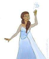 cold never bothered her by xHyrulesOblivionx