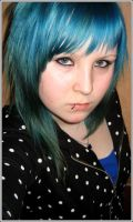 Blue Hair by Boble