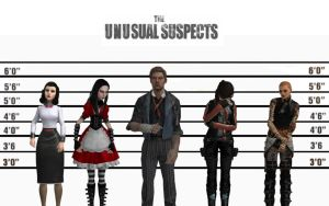 The Unusual Suspects by FatalGrief