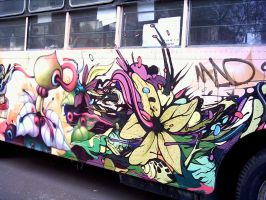 Dear Seher in the bus by GraffMX