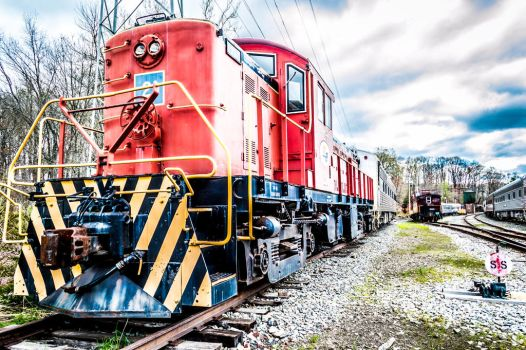 Train 21 HDR by Pawsofsteel