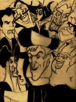 Disney's Villains by ClikClak