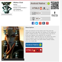 The NEW Midna Club app by elfofcourage