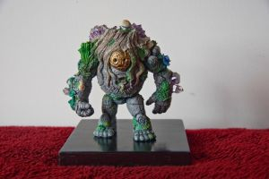 Golem-hand-painted-Front View by Lee99