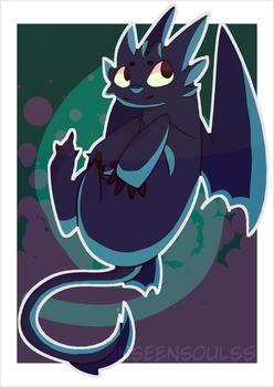Httyd Toothless by UnseenSoulss