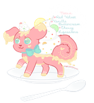 .:Prize:. PastryProductions Custom PastryPal Pup by SquiggleCakes