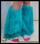 Turquoise gators by love-on-a-stick