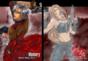 DMC4 Doujin: Blood's Memory by Akuhen