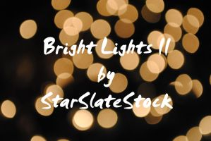 Bright Lights Bokeh II by StarSlateStock