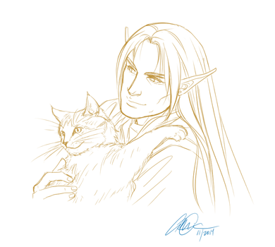 promt - with a pet by anniecoleptic