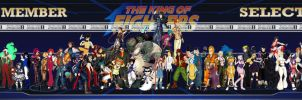 THE KING OF FIGHTER OC COLLAB by DRAKEFORD