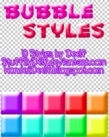 Bubble Styles by StuffByDelf
