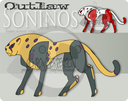 Outlaw pokemon - Soninos by Prinny-Dood
